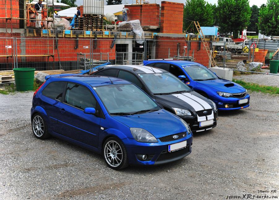www.XR5-turbo.com - 05.08.10 Ford ST vs Subaru STi