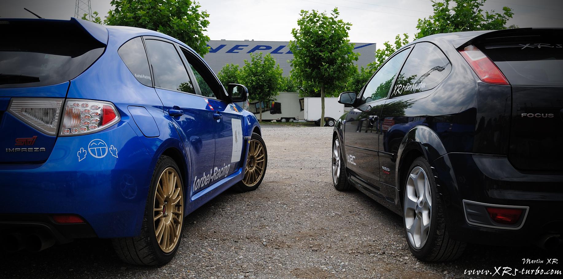 Ford Focus Rs Vs Sti >> www.XR5-turbo.com - 05.08.10 Ford ST vs Subaru STi